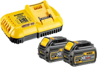 Picture of Battery Starterset DeWalt DCB 118 T2