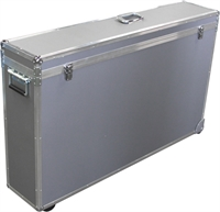 Bild von Aluminiumkoffer mit Rollen